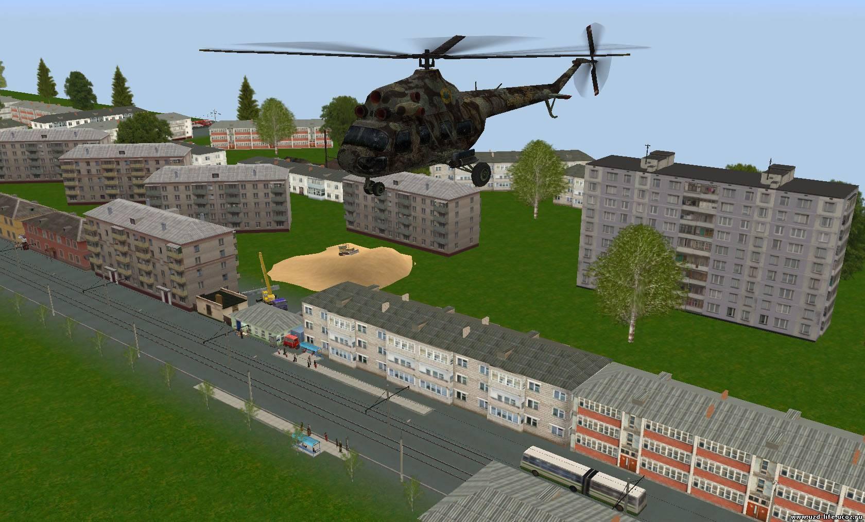 Сталкер где можно летать на вертолете 3 фотография